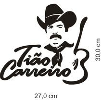 Adesivo Caminhonete Tião Carreiro 30x27cm - Frete Grátis