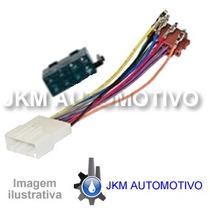 _chicote Nissan Com Conector Iso Automotivo + Garantia + Nf