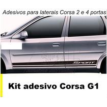 Adesivos Sport Classic Wind Super Adesivo Tuning Carro Corsa