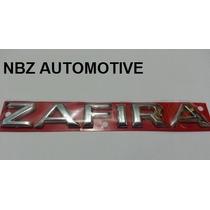 Emblema Cromado Zafira Linha 2002 Em Diante - Nbz Automotive