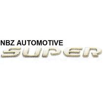 Emblema Super (celta/corsa) Mini Cromado - Nbz Automotive