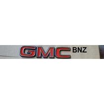Emblema Gmc (mini) Vermelho - Nbz Automotive