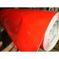 Envelopamento Vermelho Brilhante Automotivo
