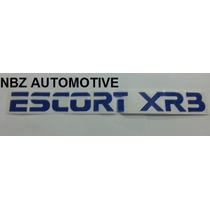 Emblema Adesivo Escort Xr3 Azul
