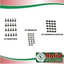 Kit Parafuso Forro Revestimento Porta Fusca Brasilia Kombi