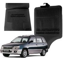 =tapete Carro Borracha Daihatsu Gran Move 2004 2005 06 4pçs
