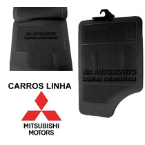 Tapete Borracha Mitsubishi_pick-up L200 (gl - Triton) - 4pçs
