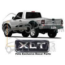 Emblemas X L T P/ Modelos Ford Ranger. Letra Cromada.