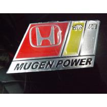 Emblema Mugen Power Honda Civic Si Fit Crv Accord