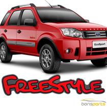 Emblema Ecosport Adesivo Freestyle Ford Letreiro