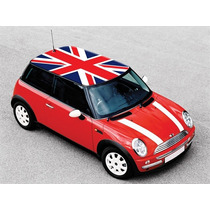 Adesivo Teto Ou Capô Carro Bandeiras Lifan Mini Cooper