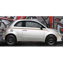 Kit Faixas Laterais Fiat 500 - Italia - Decalx