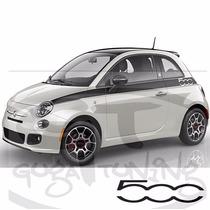Faixa Fiat 500 Modelo Prima Edizione Material Importado
