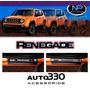 Kit Soleiras Resinadas Protetor Porta Jeep Renegade Auto330