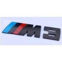Emblema Bmw M3 Black - Traseiro