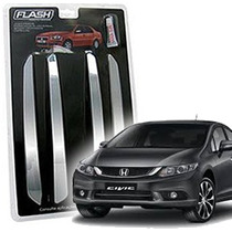 _friso Para-choque Cromado Honda New Civic 05 06 07 Jg 4pçs