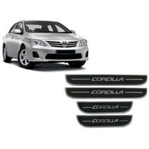 Jgo Soleira Resinada Preta Toyota Corolla 2008 A 2016