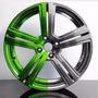 Tinta Cromo Chrome 500 Ml+ Candy Verde 100ml Efeito Cromado