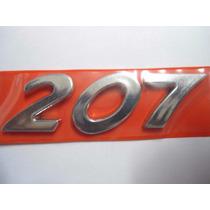 Emblema Nome 207 Peugeot