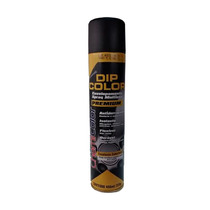 Tinta Spray Para Envelopamento Preto Brilhante Dip Color