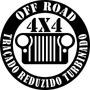 Adesivo Vinil Off Road 4x4 Traçado Reduzido Turbinado