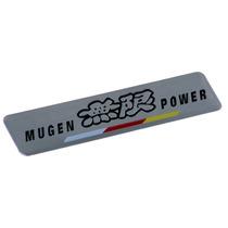 Emblema Adesivo Badge Em Metal - Mugen Power Honda Si Civic