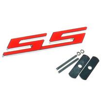 Emblema Para A Grade Em Metal Cromado - Chevrolet Ss Camaro