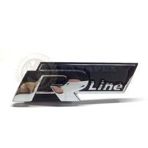 Emblema Vw R Line Grade Frontal Acessórios Gol Golf Jetta