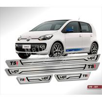 Soleira Aço Inox Premium Vw Volkswagen Up Tsi Alta Qualidade