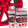 Kit Spray Envelopamento Líquido Rodas Vermelho
