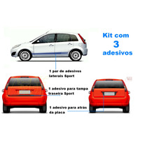 Kit Adesivo Fiesta Hatch 2003 2004 2005 2006 2007 2008 2009.