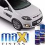 Tinta Spray Na Cor Do Carro Fiat Branco Banchisa + Verniz