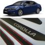 Friso Lateral Corolla 2015 2016 Cores Originais - Jg 04 Pçs