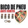 Bico Válvula Pneu Antifurto Trava Cromado Time Sport Recife