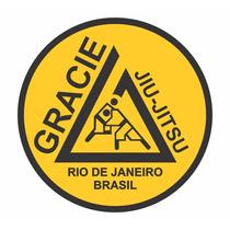Adesivo Gracie Jiu Jitsu Rio De Janeiro (frete Gratis)
