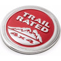 Emblema Metálico Trail Rated Jeep Renegade Cherokee Wrangler