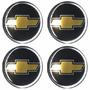 Jogo Emblema Chevrolet Botom Para Calota Roda Esportiva 58mm