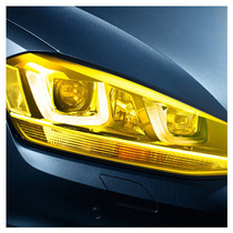 Película Adesivo Farol Lanterna Milha Carro Moto Amarela