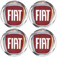 Logo Tipo Modelo Fiat P/calota Ou Roda C/4 Peças 48mm