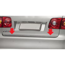 Friso Porta Malas Cromado Rígido Vw Polo Sedan 2002 A 2013