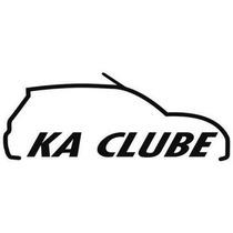 Adesivo Decorativo Parabrisa Carro Club - Ford Ka Clube
