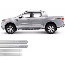 Jgo Friso Lateral Na Cor Do Carro Ford Ranger 2013 A 2015