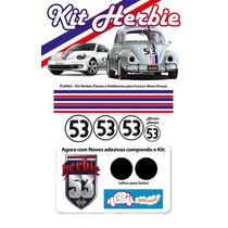 Kit Completo Fusca Herbie 53 Para Fusca E New Beatle