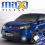 Tinta Spray Automotiva Fiat Azul Masserati + Verniz 300ml