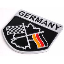 Adesivo Tuning -3d Germany - Alemanha -em - Alumínio