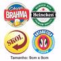 4 Adesivos Brahma Heineken Antartica Skol (frete Grátis)