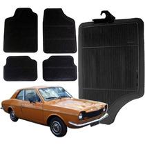 Tapete Para Carro De Borracha Corcel 1979 - Kit 4pçs