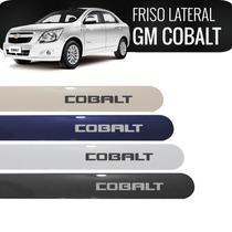 Friso Lateral Chevrolet Cobalt Prata Switchblad Cor Original
