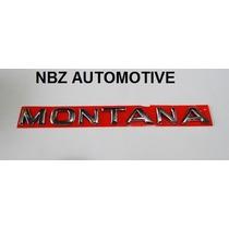 Kit Emblemas Montana + 1.8 + Flexpower + 2 Sport - Nbz