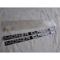 Plaquetas Monza Classic 91/93 Peças Em Aluminio De Epoca